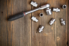 Socket wrench Stock Photography