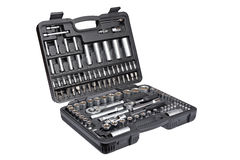 Socket wrench set Stock Photos
