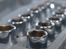 Socket wrench Set Stock Image
