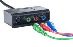 Sockets for connect to computer Stock Image
