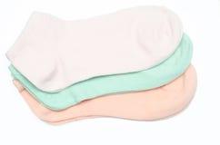 Sockor av olika färger Royaltyfri Bild