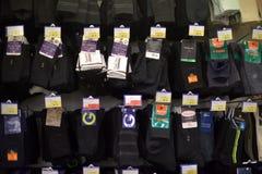 sockor i supermarket Arkivbilder