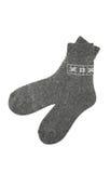 socks шерстяное Стоковое Изображение