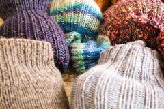 socks шерстяное Стоковое Фото