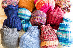 socks шерстяное Стоковое Изображение RF