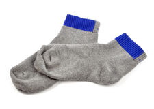 Socks. Sports socks on white background Stock Image