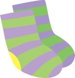 Socks. Illustration of socks on white Royalty Free Stock Images