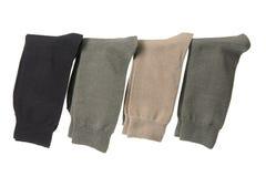 Socks. On Isolated White Background royalty free stock images