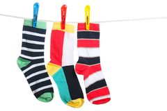The socks Stock Photo