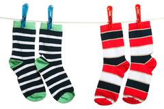 The socks Royalty Free Stock Photography