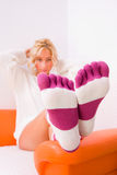 Socks Stock Photography