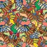 Socks background Stock Images