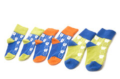 Socks for child Royalty Free Stock Images