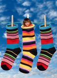 Socks, Colorful, Stockings Royalty Free Stock Images
