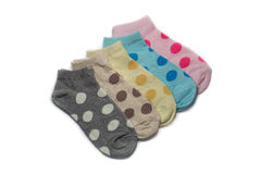 Socks colorfull Stock Photo
