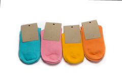 Socks colorfull Stock Image