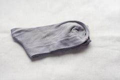 Socks gray Stock Image