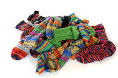 Socks laundry Stock Photo