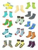 Socks for little boys Stock Photo
