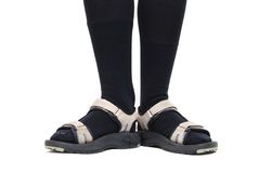Socks in Shoes Royalty Free Stock Photo