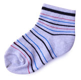 Socks  on white Stock Images