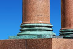 Socle van de kolom Stock Fotografie