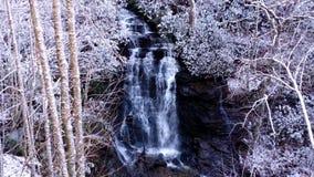 Soco понижается сцена зимы Стоковые Изображения RF