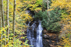 Soco Falls in NC royalty free stock image