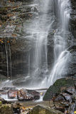 Soco Falls Up Close 2. Soco Falls In Maggie Valley North Carolina Up Close Stock Photography