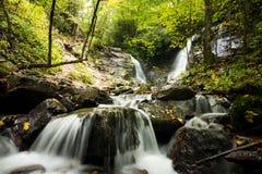 Soco Fals i västra North Carolina fotografering för bildbyråer