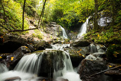 Soco Fals in Western North Carolina Stock Image