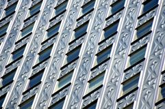SoconyMOBIL大厦特写镜头 免版税库存照片