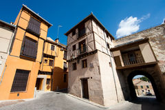 Socorro square, Segovia Stock Photos
