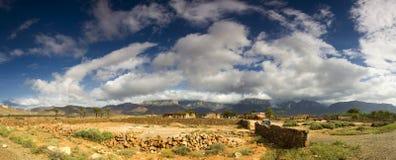 socotra панорамы острова Стоковое Фото