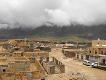 Socotra island. View to main city of Socotra island called Hadibo Royalty Free Stock Image