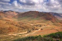 Socotra Island - inland area, Yemen. Inland highlands of Socotra Island, Yemen Royalty Free Stock Image