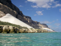 Socotra Island, Yemen. Arher Dunes at the eastern part of the Island Royalty Free Stock Images