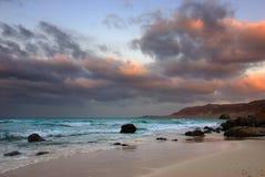Socotra, sunset Stock Photos