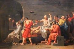Socrates死亡  免版税库存图片