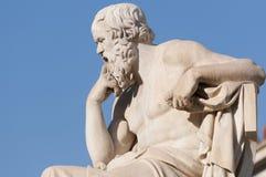 Socrates clássico da estátua Foto de Stock