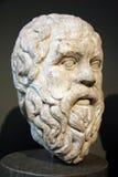 Socrates de philosophe du grec ancien Image stock