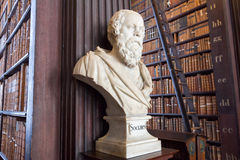 Socrates library Stock Photography