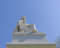 Socrates the philosopher statue Royalty Free Stock Photography