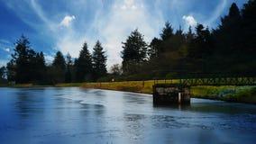 Socttish jezioro obrazy royalty free