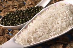soczewica ryżu Obraz Royalty Free