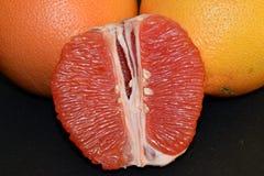 Soczyści i smakowici grapefruits obraz stock