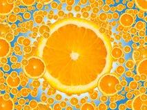soczyści pomarańczowi plasterki Zdjęcia Stock