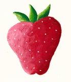 soczysta czerwona truskawka Obrazy Royalty Free