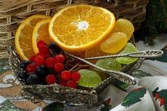soczysta pomarańcza Fotografia Royalty Free