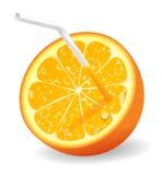 soczysta pomarańcze Zdjęcia Stock